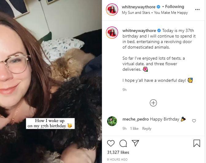 MBFFL star Whitney Turns 37 Years Old