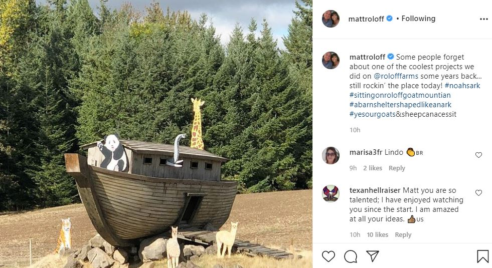 Matt Roloff Shares One Of His Coolest Projects Ever Done