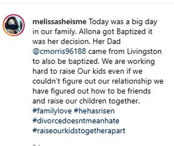 My 600-LB Life Melissa Morris Mentions Chris