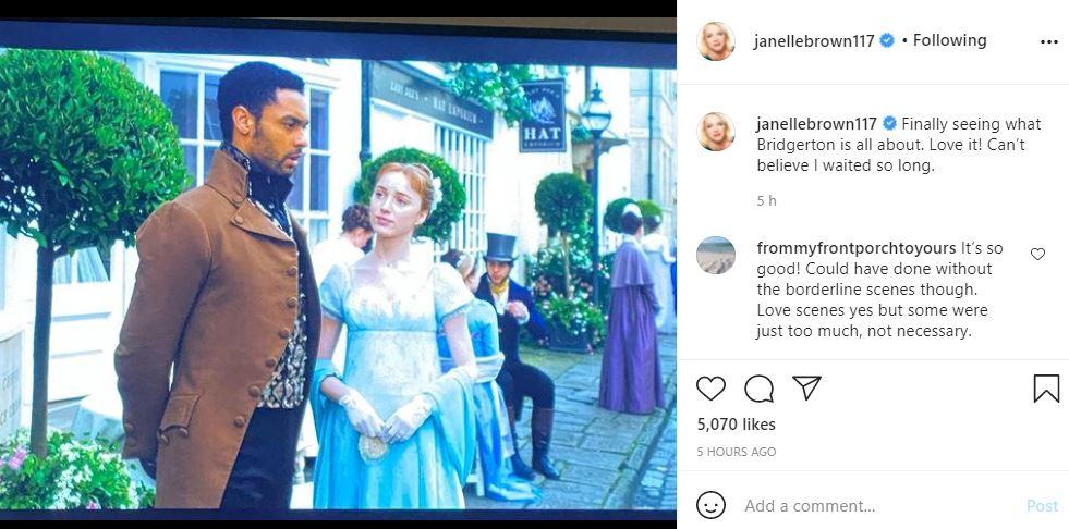 Netflix 'Bridgerton' consigue una estrella de 'Sister Wives' como nueva fan