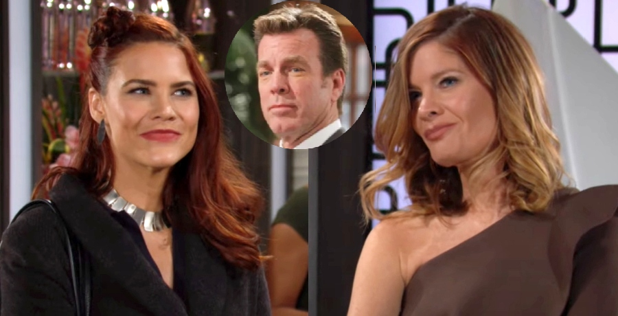phyllis - sally - jack - Young and the restless