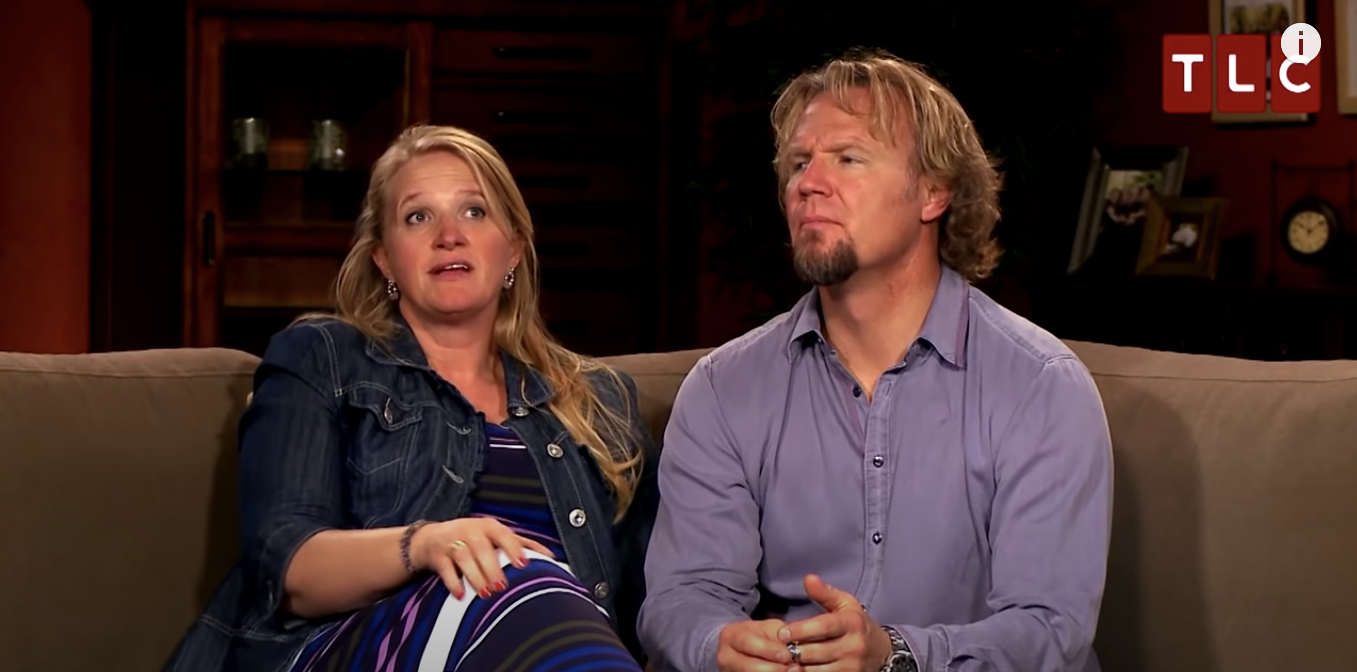 Sister Wives Christine Brown with Kody