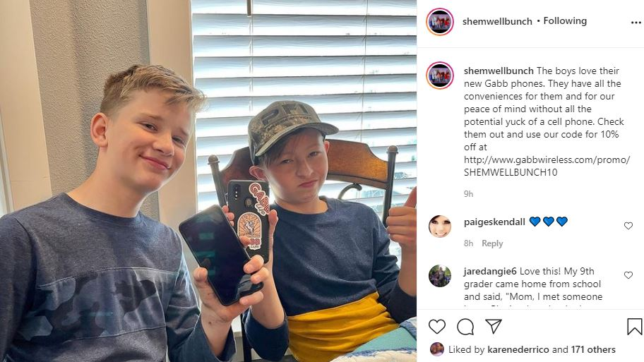 The Blended Bunch Boys Get Their First Phones