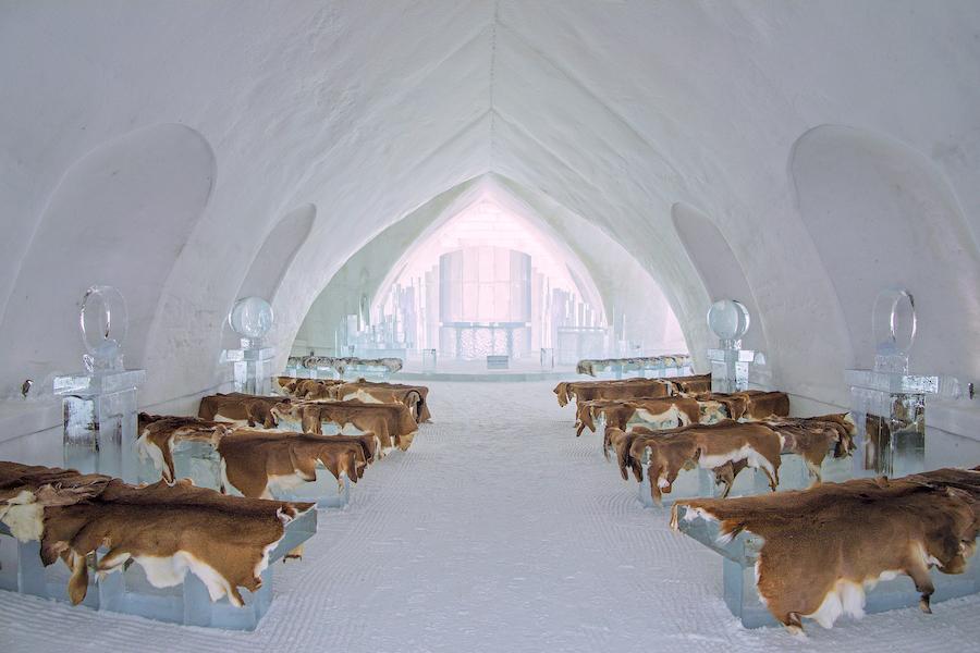 Hallmark, Ice Hotel-Credit: ©2021 Crown Media United States LLC/Photographer:Courtesy of Johnson Production Group