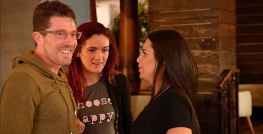 Seeking Sister Wife stars Garrick, Dannielle and Roberta
