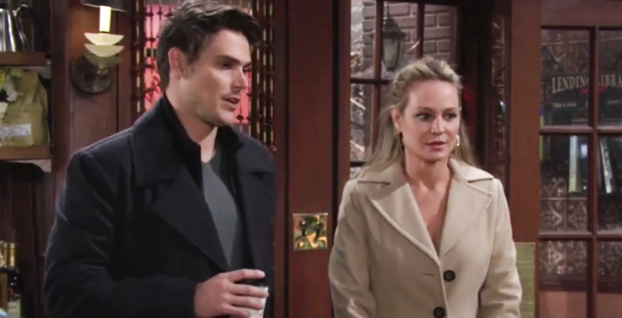 Adam and Sharon The Young and the Restless
