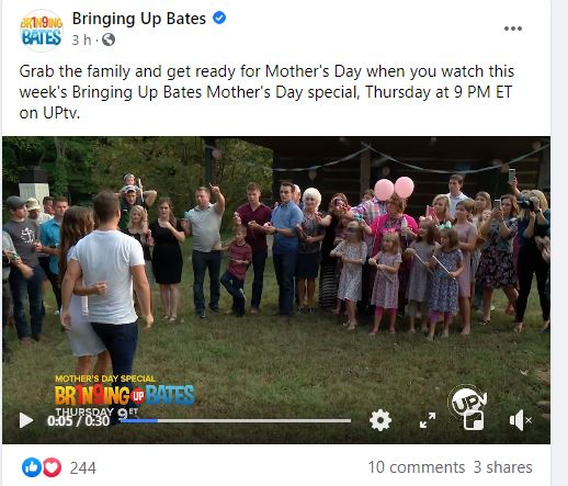'Bringing Up Bates' Mother's Day Special This Week