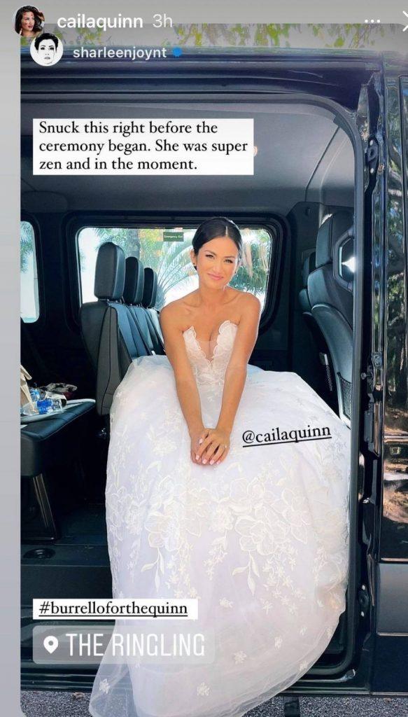 Calia Quinn Marriage The Bachelor