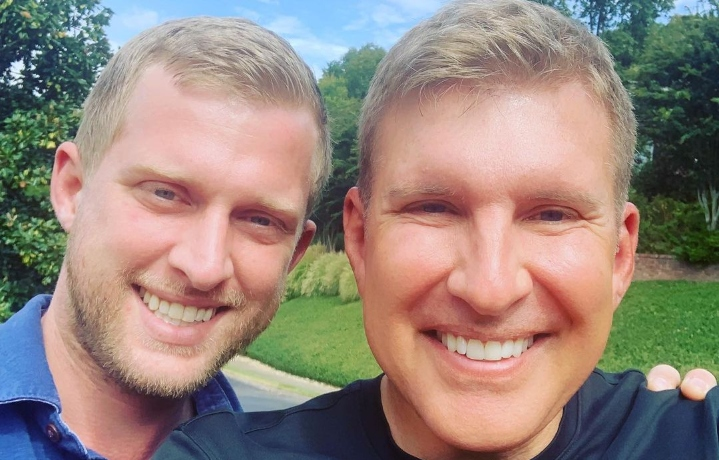 Chrisley Knows Best Todd Chrisley Kyle & Wife going to hell feature