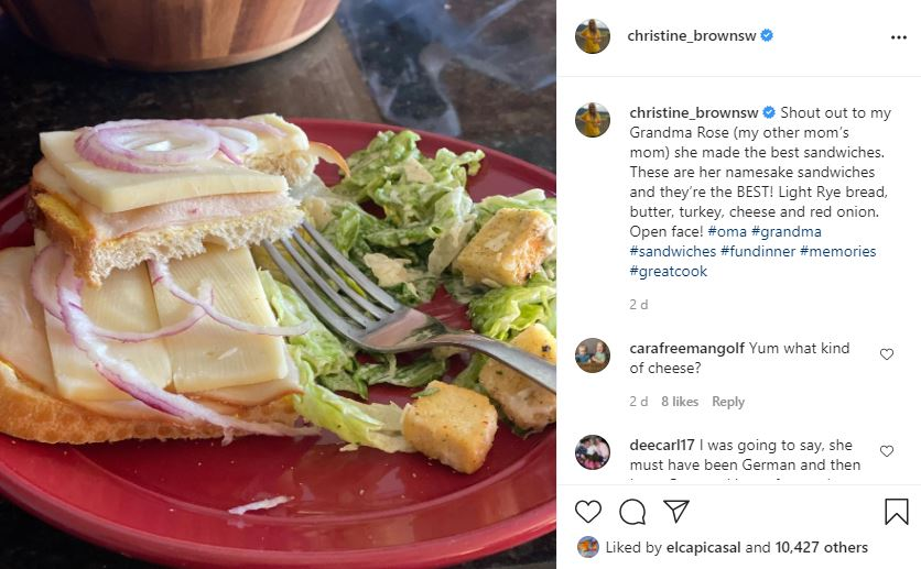 Christine Brown's Turkey Sandwich Has 'Sister Wives' Fans Baffled