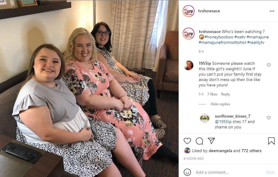 Honey Boo Boo Critics Act Like She Stars On 1000-LB Sisters Says Fan