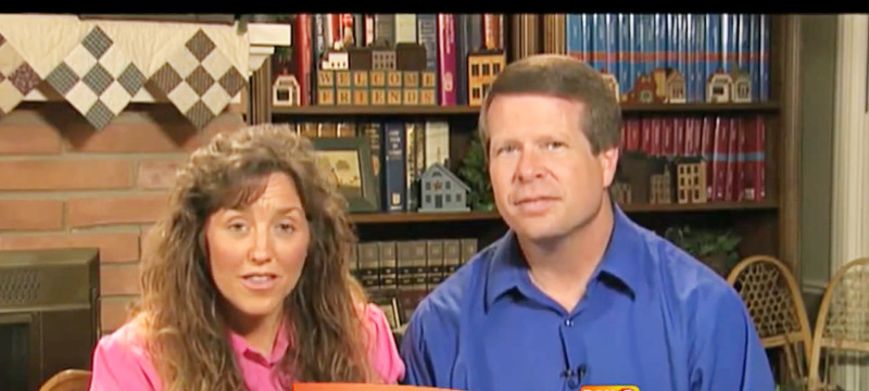 Michelle and Jim Bob Duggars/YouTube