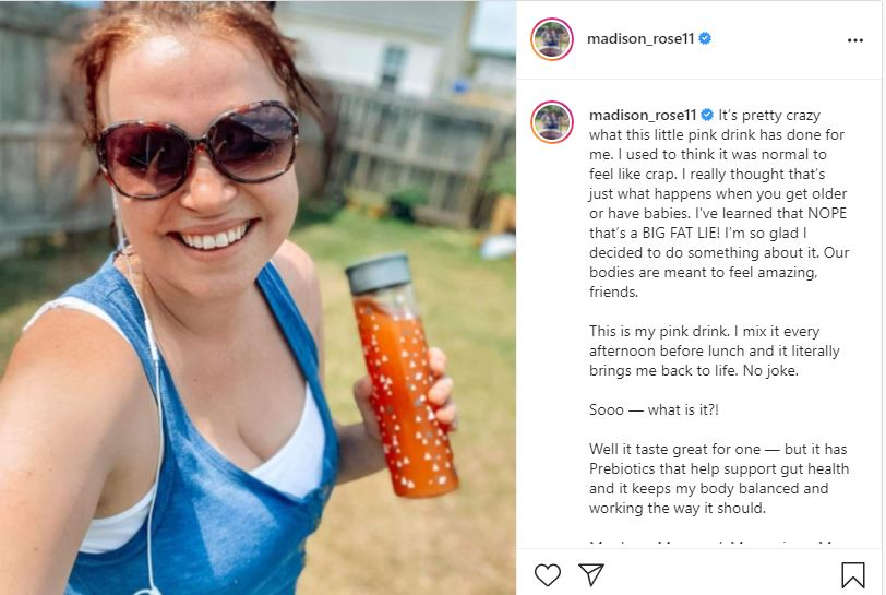 Maddie Brown Brush Puts On Busty Display In Sizzling Snap