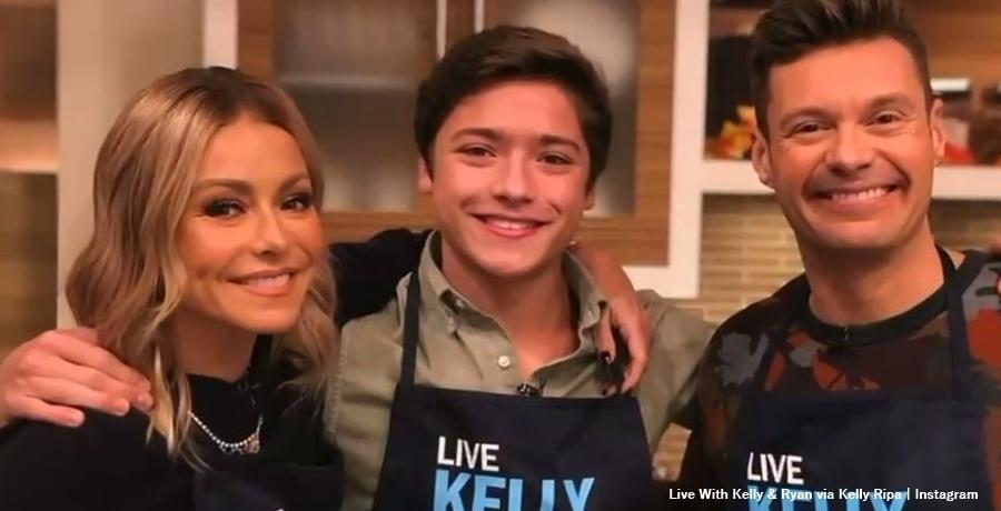 Mark Consuelos & Kelly Ripa - Son Joaquin