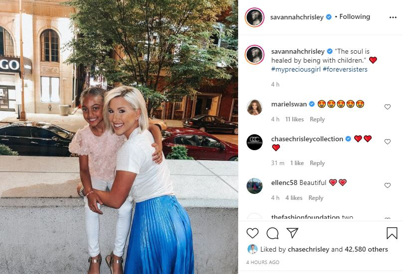 Savannah Chrisley Finds Healing For Her Soul With Chloe