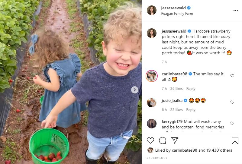 See ADORABLE Video Of Jessa Seewald's 'Hardcore Strawberry Pickers'
