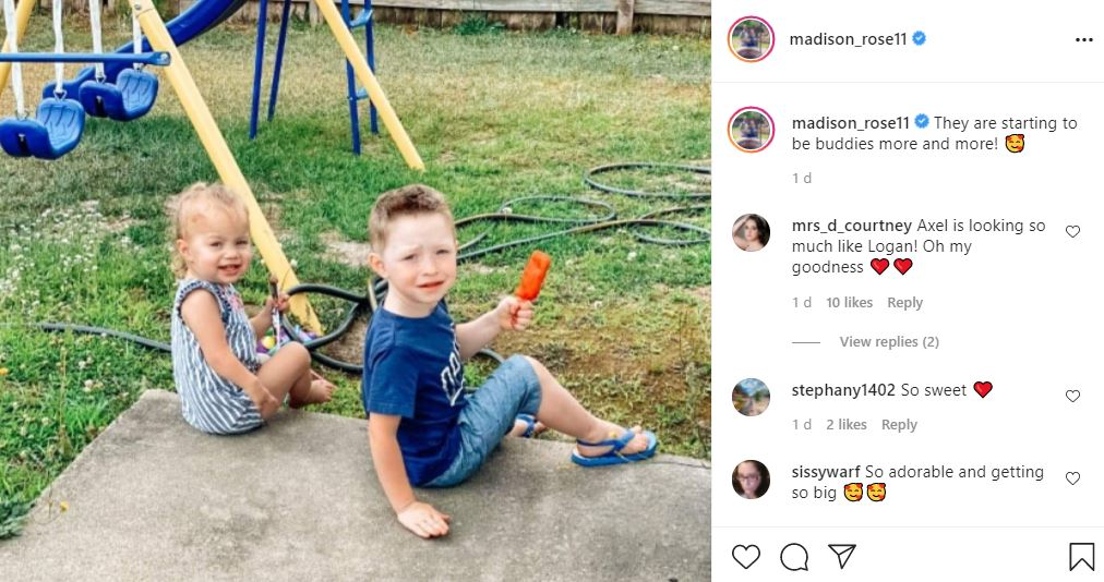 Sister Wives Star Maddie Brown Brush Spills Do Axel & Evie Get Along
