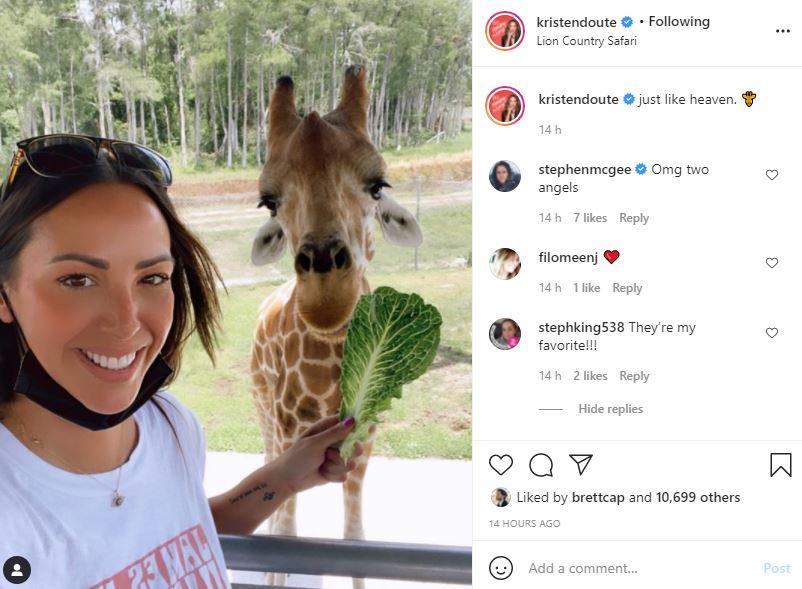 Vanderpump Rules Alum Kristen Doute Reveals Her Favorite Animal