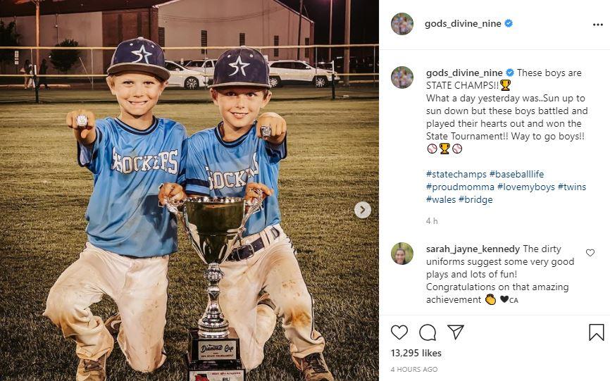 Waldrop Boys Take State Championship Says Proud Mama