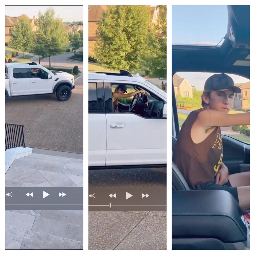 Chrisley Knows Best Grayson Chrisley new ride