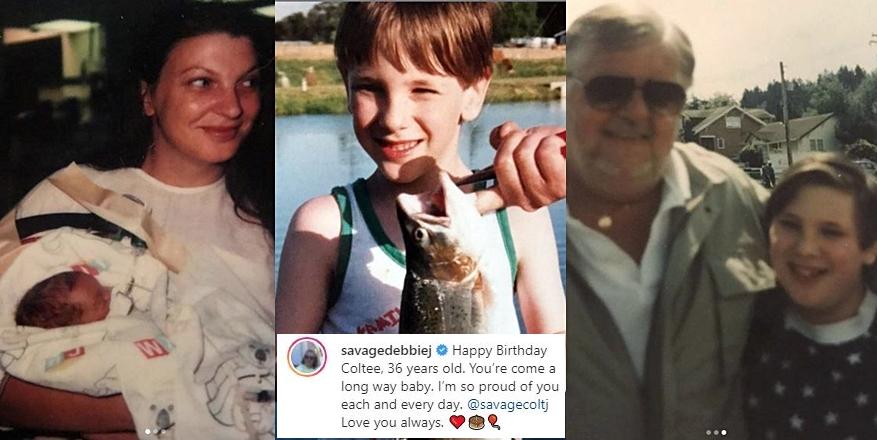 Colt Johnson's Mom Debbie Shares Adorable Throwback Photos