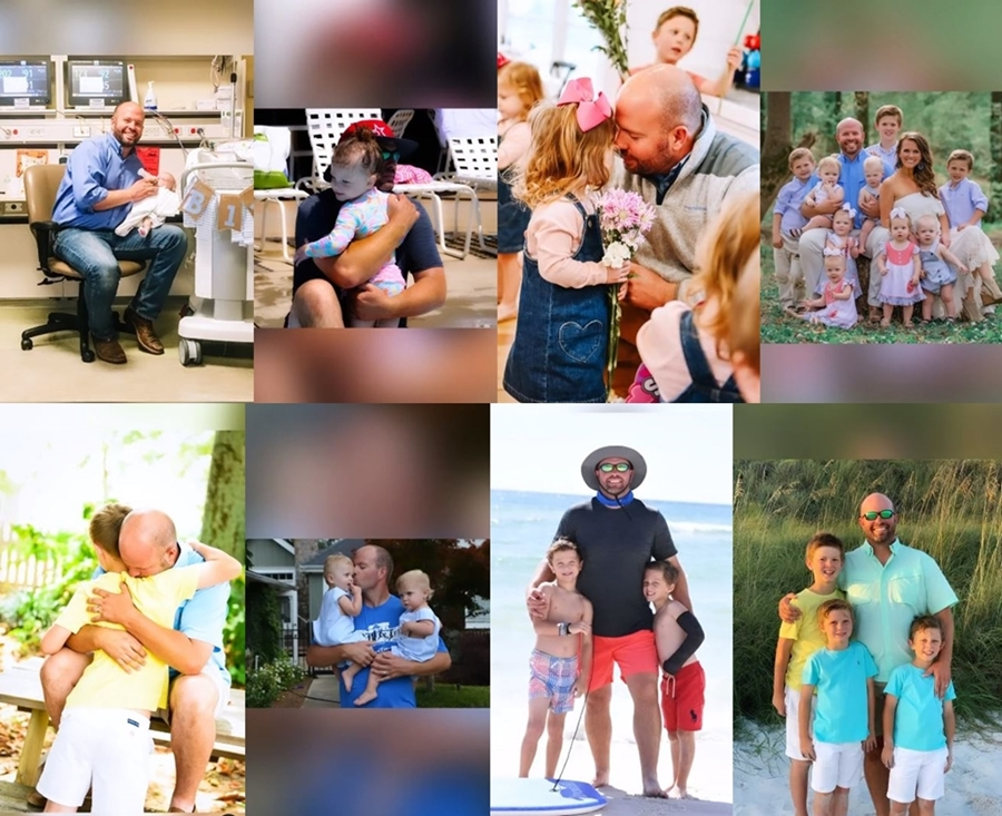 Courtney Waldrop Wishes Eric Happy 2021 Father's Day See Photos