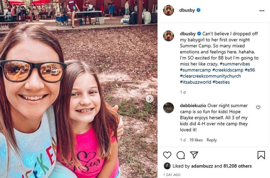 Danielle Busby Has Mixed Feelings As She leaves Blayke Behind