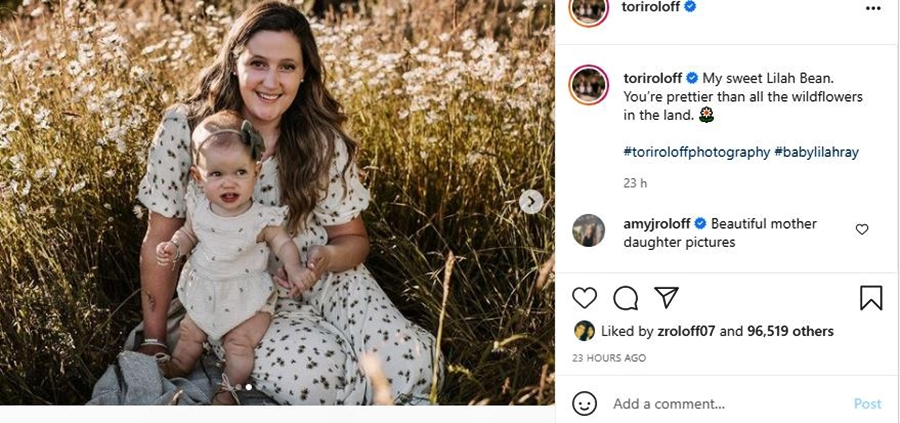 LPBW Fans Swoon Over Tori & Lilah Roloff In Field Of Wildflowers