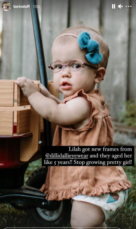 LPBW WOW Tori Roloff Says Lilah Ray Has Aged Five Years See Why
