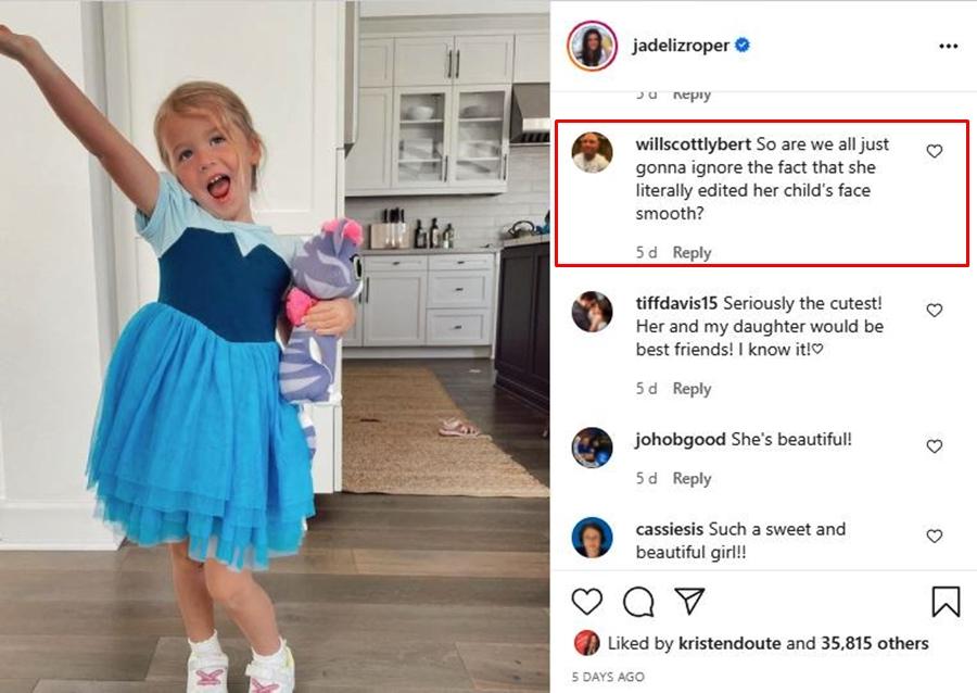 Multiple Times Jade Roper Slammed Trolls Who Slap At Her Parenting