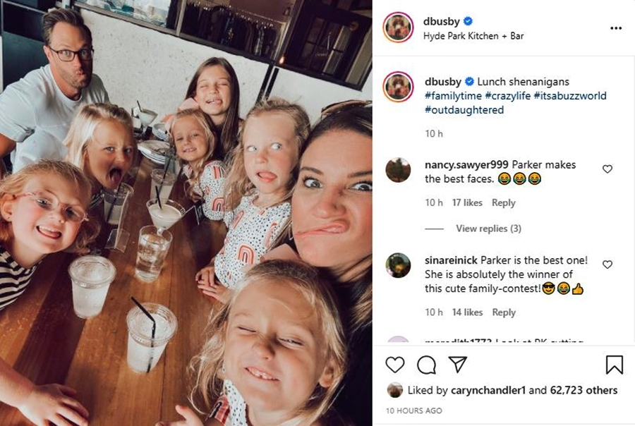 OutDaughtered Fans Agree Parker Busby Wins In This Silly Photo