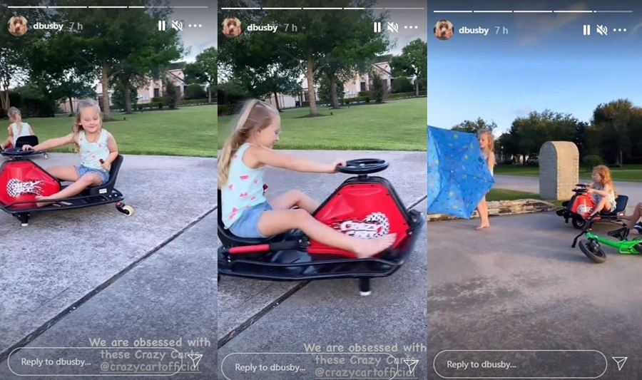 OutDaughtered Busby Quints Enjoy More Fun On New Wheels