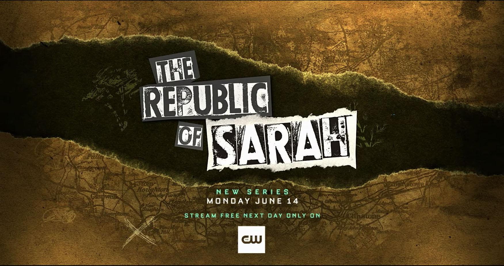 The CW The Republic of Sarah