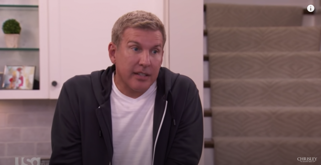 Chrisley Knows Best Todd Chrisley scowl
