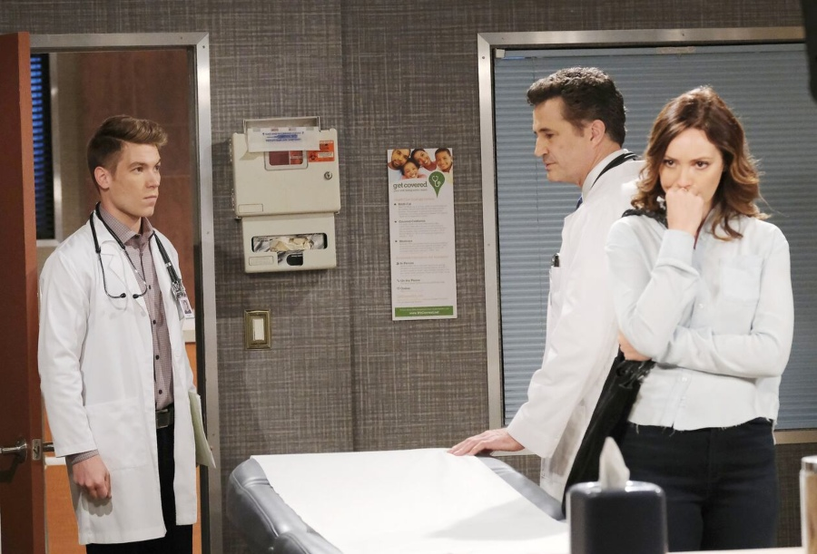 Tripp Johnson (Lucas Adams) - Dr. Clay Synder ( Michael Lowry) - Gwen Rizczech (Emily O'Brien) -NBC