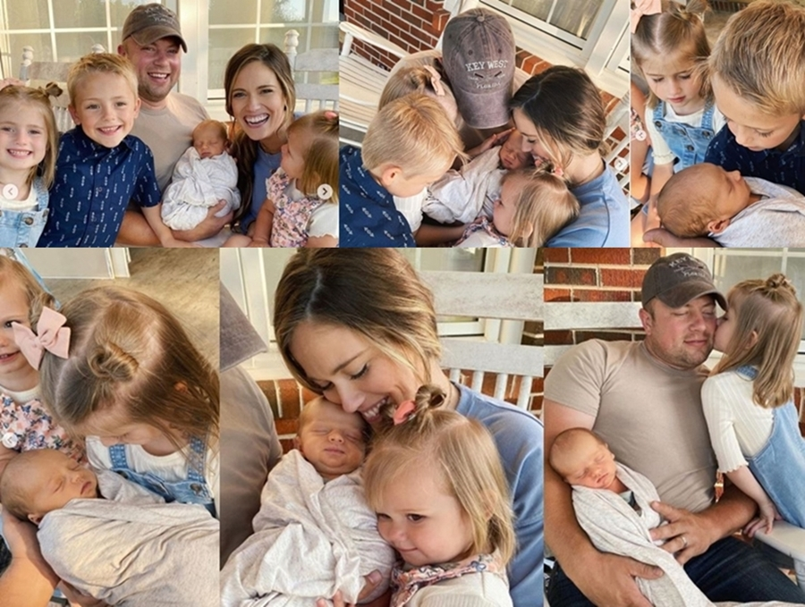 Zach And Whitney Bates Bring Home Baby Jadon See Homecoming Pics