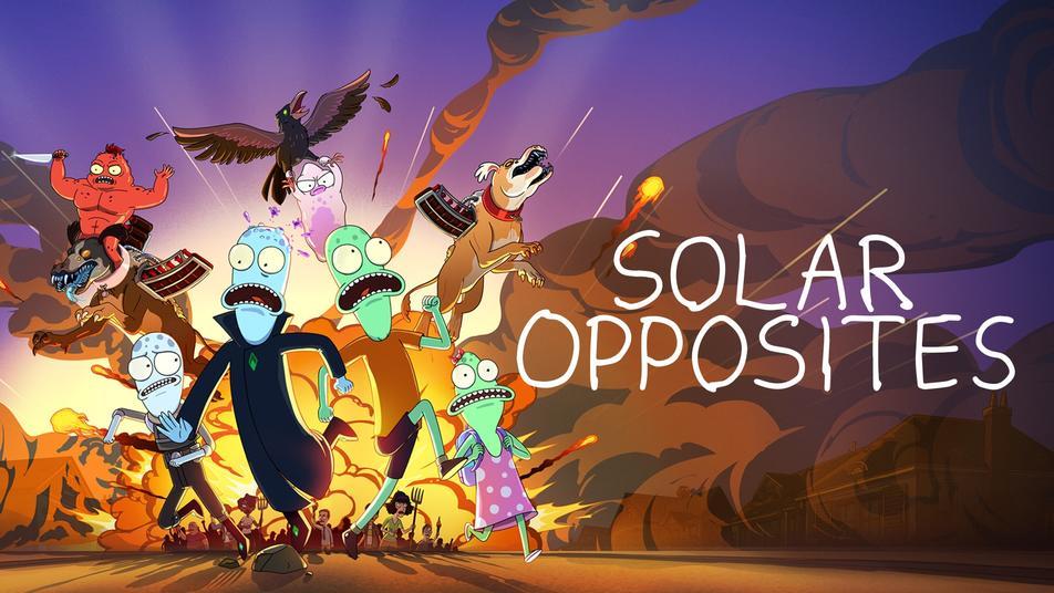 Solar Opposites Hulu