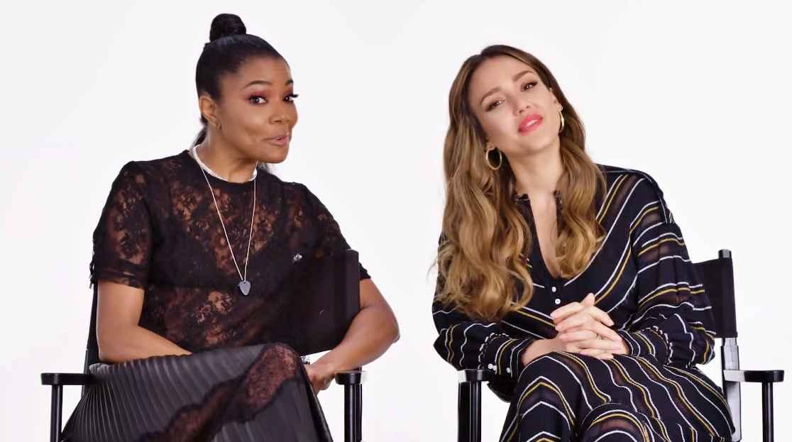 Gabrielle Union and Jessica Alba of LA's Finest