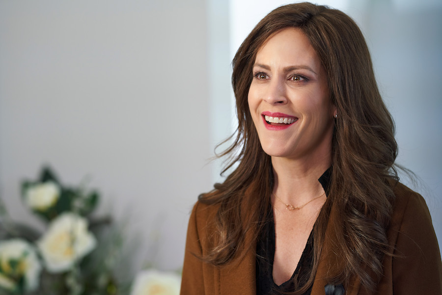 Lifetime, Jennifer Dulos-Annabeth Gish as Jennifer Dulos in Gone Mom: The Disappearance of Jennifer Dulos premiering Saturday, June 5 at 8pm/7c. Photo by Courtesy of Lifetime Copyright 2021