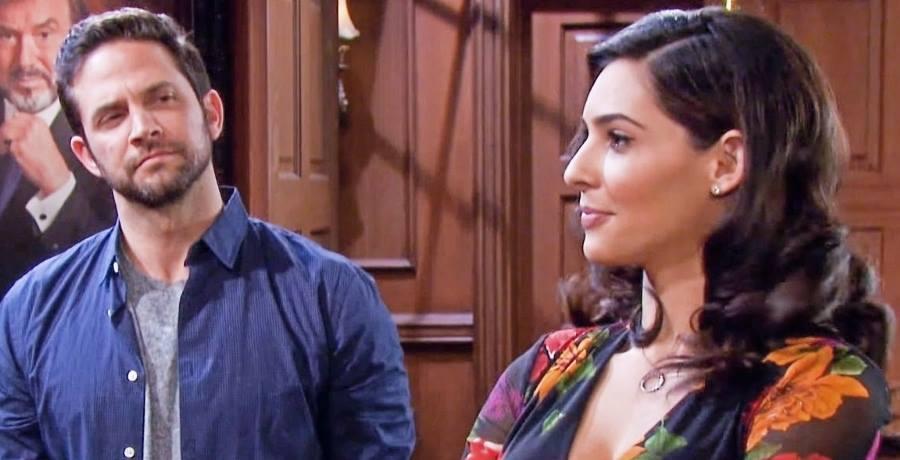 Gabi Hernandez (Camila Banus) - Jake DiMera (Brandon Barash) - NBC YouTube