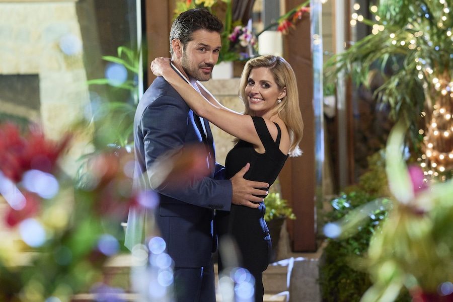 Hallmark, A Little Daytime Drama, Love In The Afternoon, Photo: Ryan Paevey, Jen Lilley Credit: ©2021 Crown Media United States LLC/Photographer: Hugh Tull