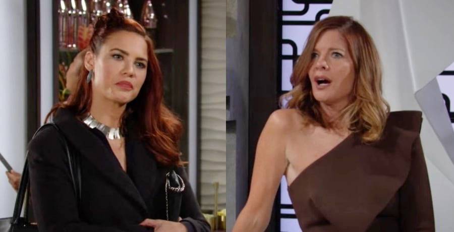 Sally and Phyllis The Young and the Restless