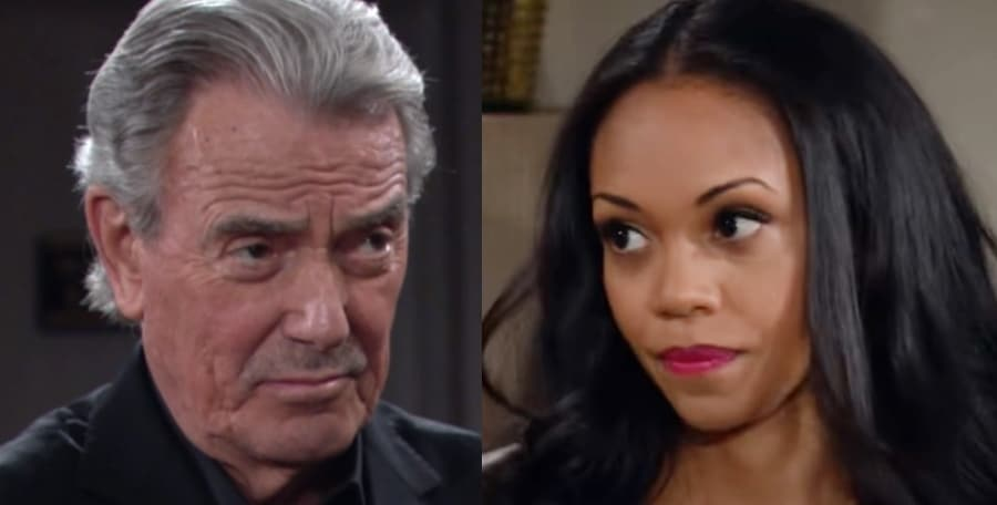Victor and Amanda The Young and the Restless