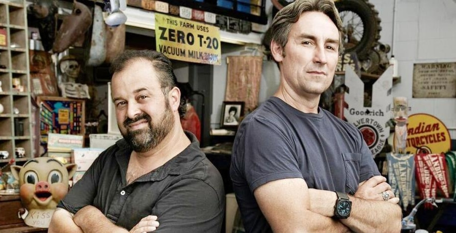 American Pickers Frank Fritz Mike Wolfe
