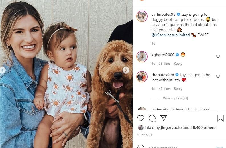 Bringing Up Bates Carlin Bates Instagram