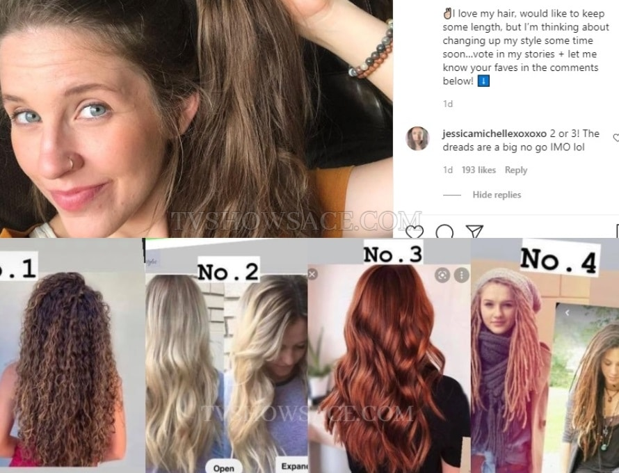 Jill Duggar Hair Instagram