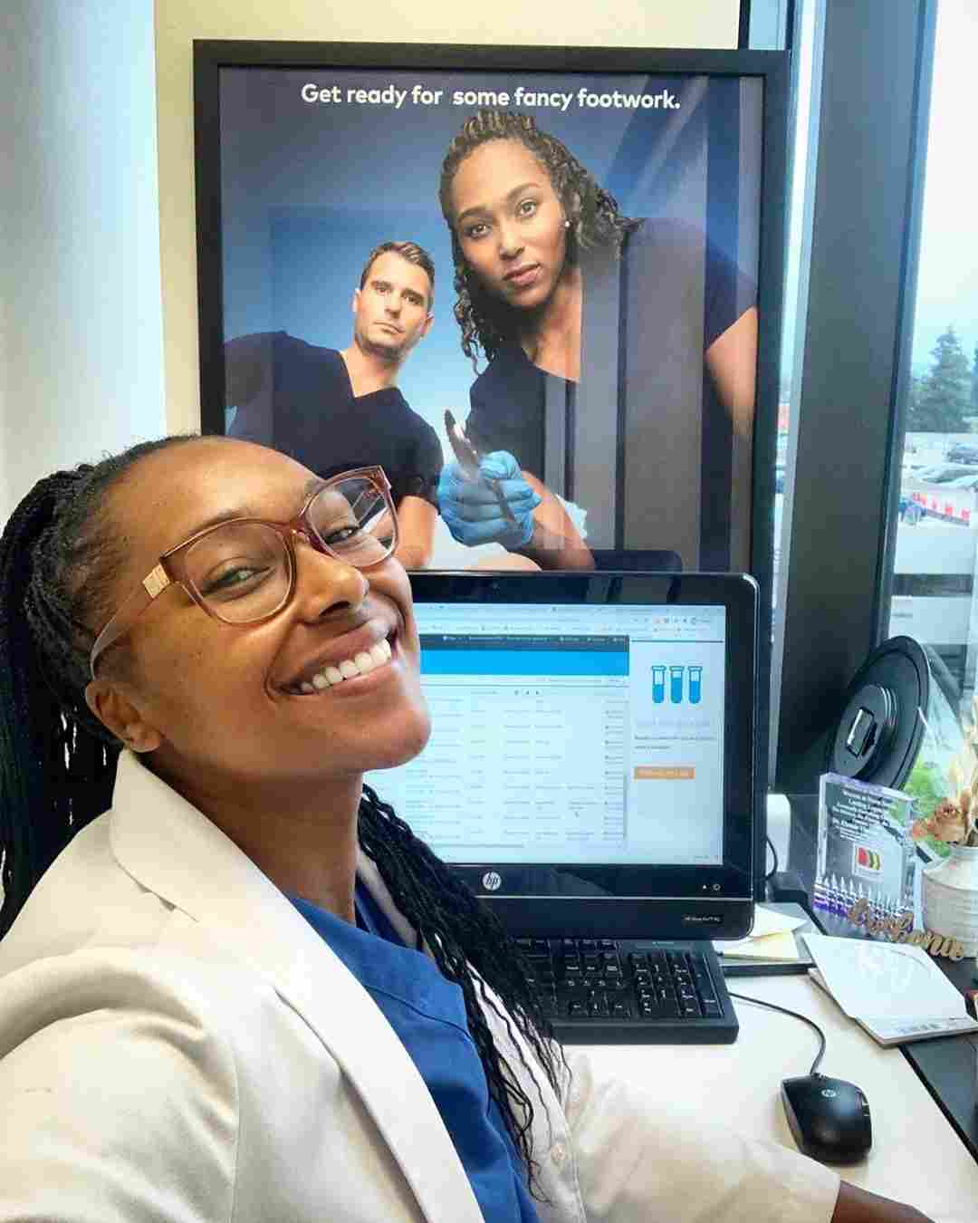 Dr. Ebonie Vincent and Dr. Bradley Schaeffer of My Feet Are Killing Me