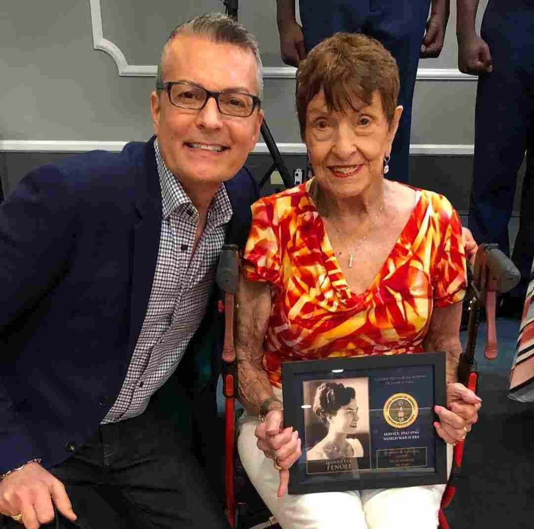 Randy Fenoli's mother Jeanette Fenoli honored for her work in WW2