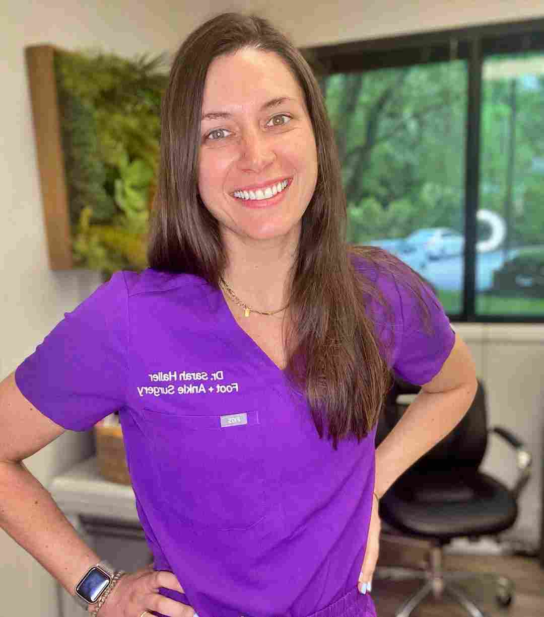 Dr. Sarah Haller of My Feet Are Killing Me on TLC