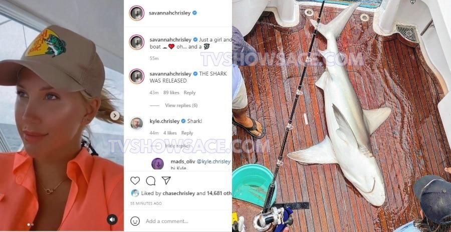 Savannah Chrisley - Shark - Instagram
